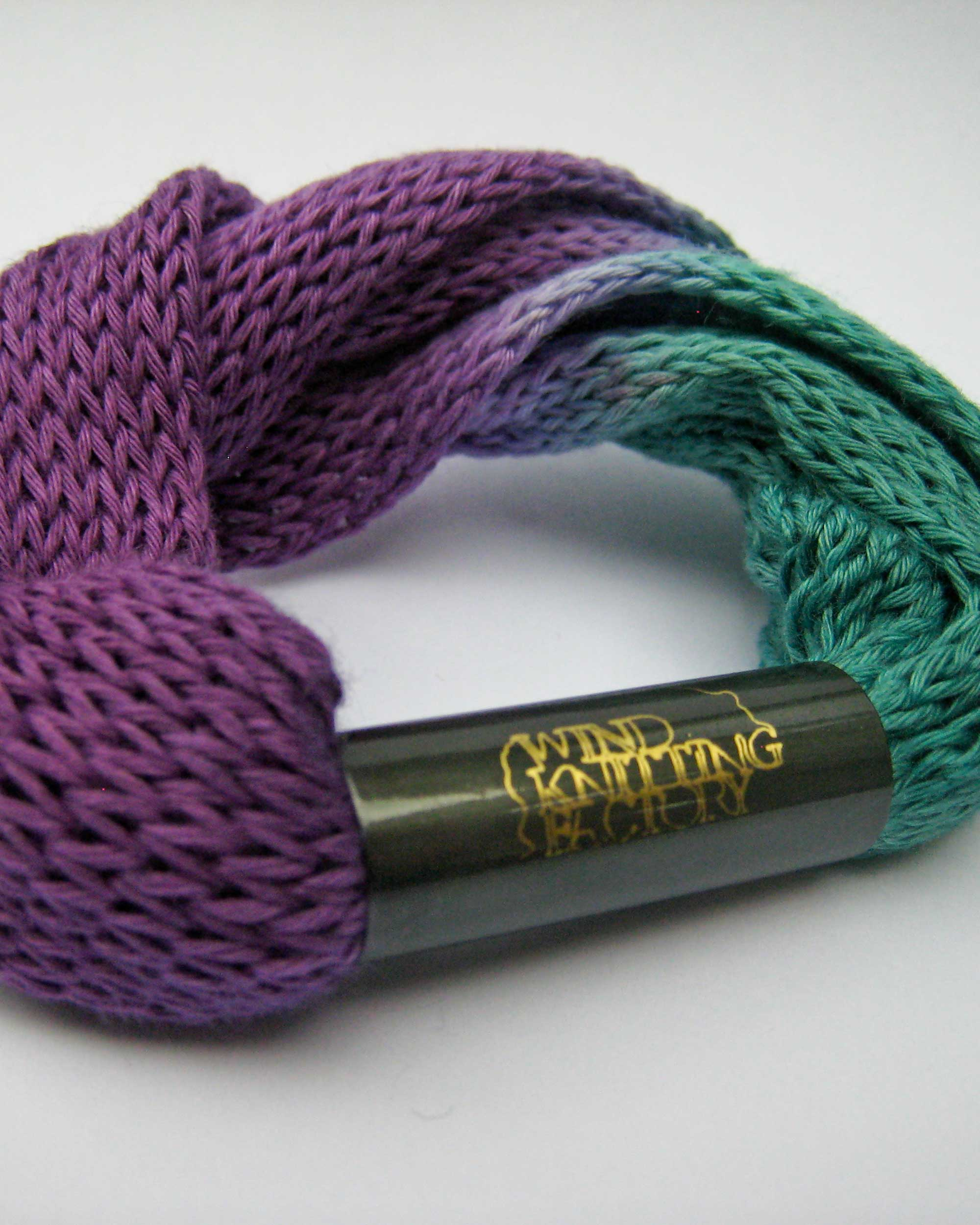 Wind Knitted Bracelets